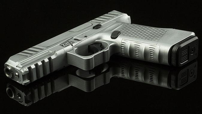 ZRODelta Genesis Z9 pistol side view