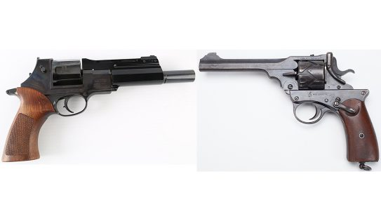 semi-auto revolver webley-fosbrey mateba