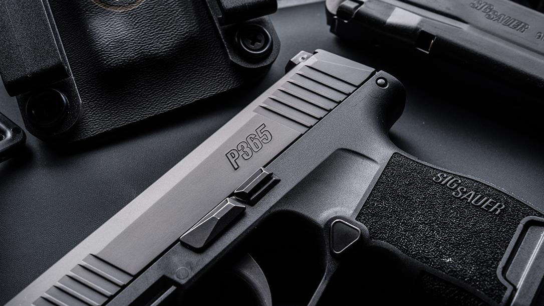 SIG Sauer logo, pistol launch