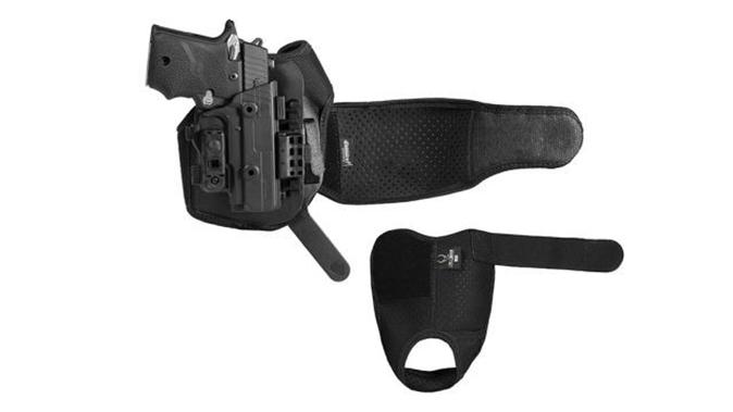 Alien Gear Shapeshift Ankle Holster gun and straps