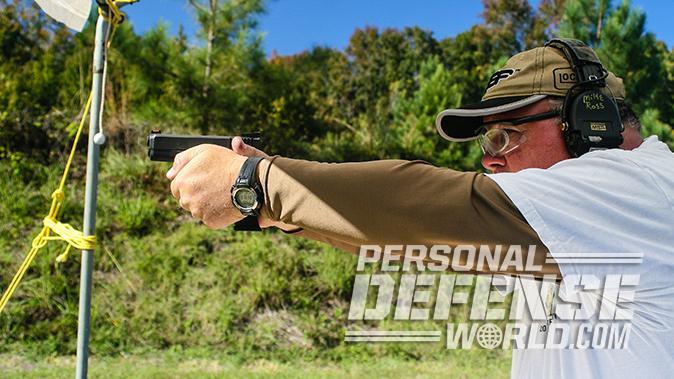 short-barreled guns shooting test