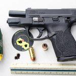 short-barreled guns smith wesson target closeup