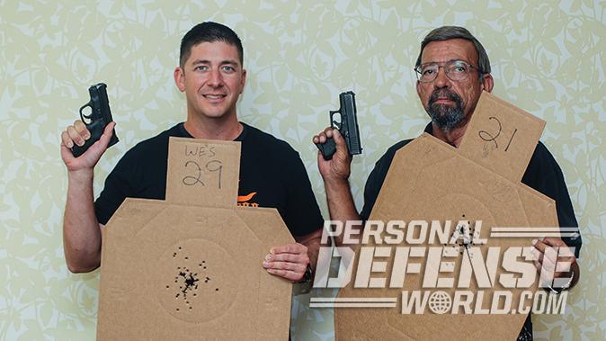 short-barreled guns police qualification scores