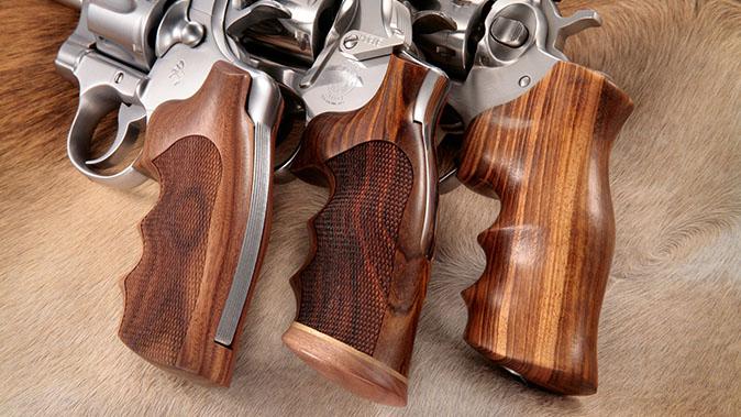 CCW Grips hogue hardwood grips