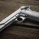 Cabot Icon 1911 pistol left angle