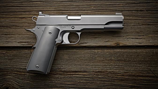 Cabot Icon 1911 pistol right profile