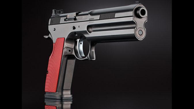 FK Brno 7.5 Field Pistol new angle