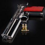 FK Brno 7.5 Field Pistol front angle