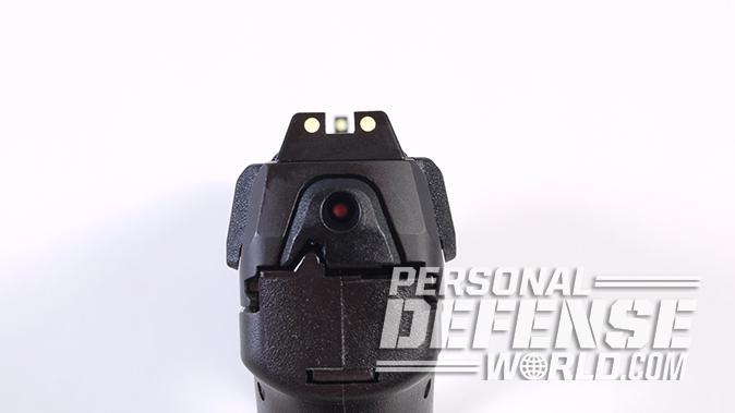 HK VP9SK pistol sights