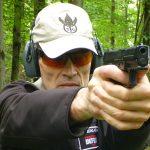 HK VP9SK pistol shooting