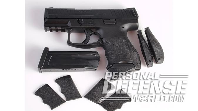 HK VP9SK pistol grip panels backstraps
