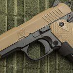 Kimber Micro 9 Desert Tan pistol left profile