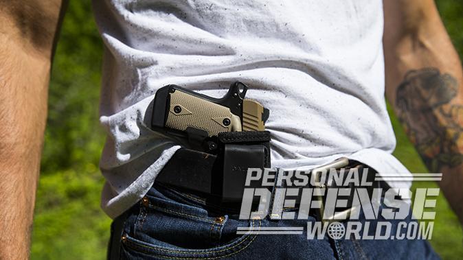 Kimber Micro 9 Desert Tan pistol holster