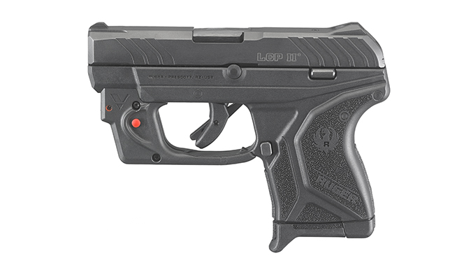 Ruger LCP II pistol left profile lcrx