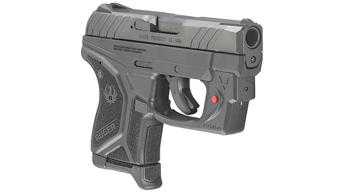 Ruger LCP II pistol right angle lcrx