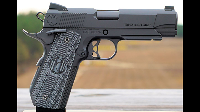 carolina arms group Privateer Carry Commander pistol right profile