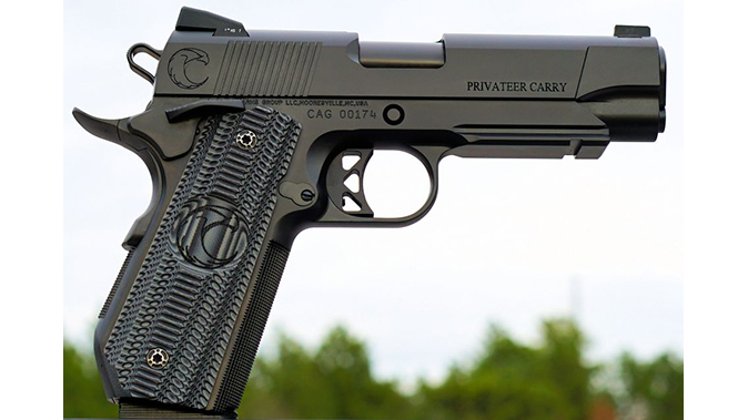 carolina arms group Privateer Carry Commander pistol right profile new angle