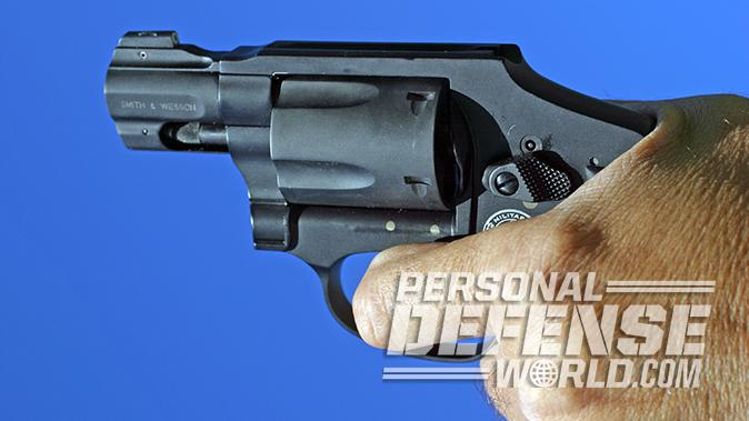 smith wesson M&P340 Review revolver shooting