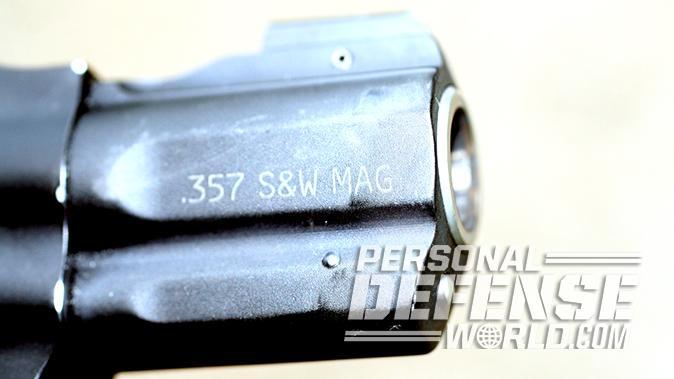 smith wesson M&P340 Review revolver barrel