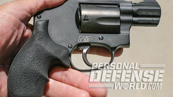 smith wesson M&P340 Review revolver right profile