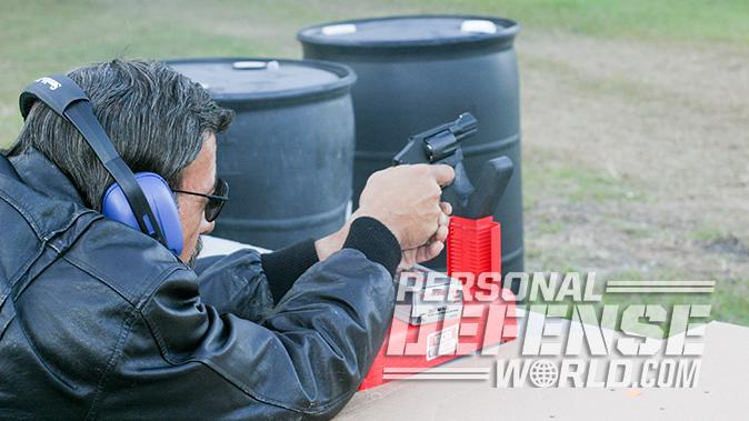 smith wesson M&P340 Review revolver benchrest test
