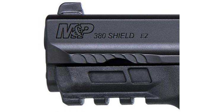Smith & Wesson M&P380 Shield EZ pistol barrel