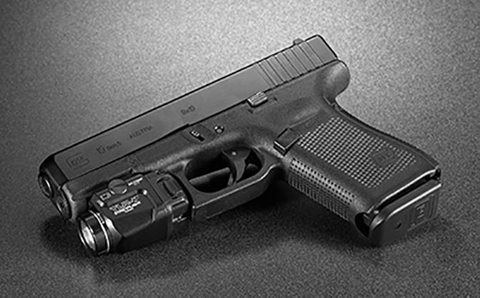 Streamlight TLR-7 light on glock