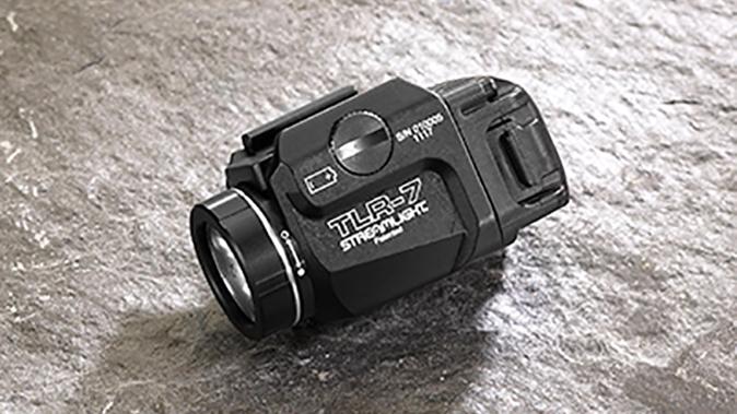 Streamlight TLR-7 light angle