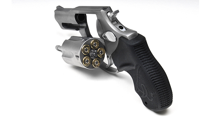 Taurus Model 605 357 magnum revolver cylinder