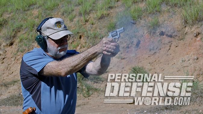 Taurus Model 605 357 magnum revolver test