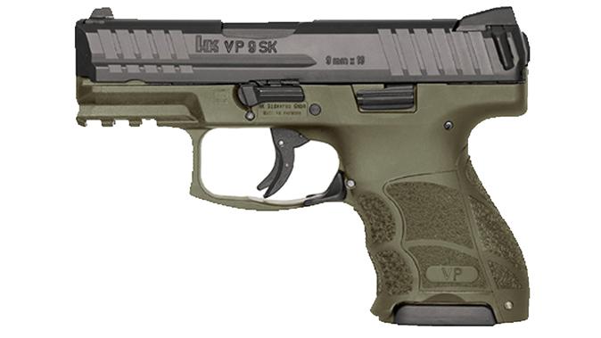hk VP9SK green pistol
