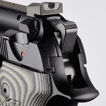 Wilson/Beretta 92G Centurion Tactical pistol rear sight