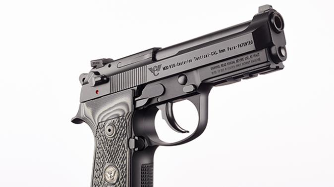 Wilson/Beretta 92G Centurion Tactical pistol trigger guard