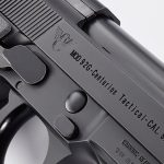 Wilson/Beretta 92G Centurion Tactical pistol markings
