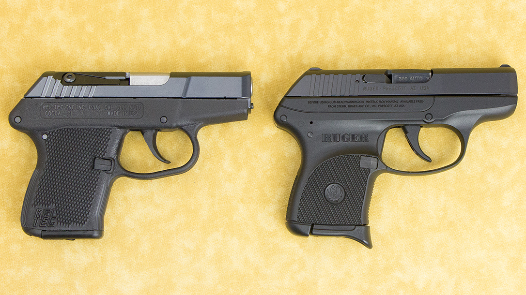Double-Action guns Ruger LCP pistol