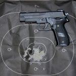 Double-Action guns Sig Sauer P226R pistol