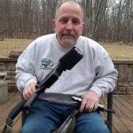 Man Saws AR-15 in half Lakeland shooting protest Scott Pappalardo