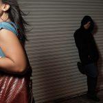 abduction walking alleyway