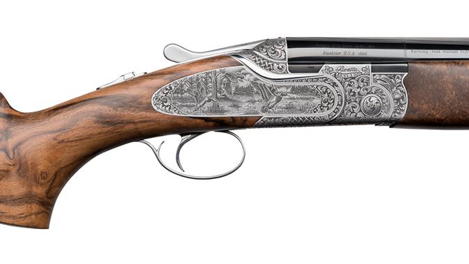 Beretta SL3 Premium Over & Under shotgun game scene receiver