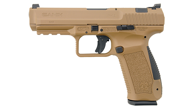 Canik TP9SA Mod.2 pistol fde left profile