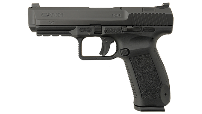 Canik TP9SA Mod.2 pistol black left profile