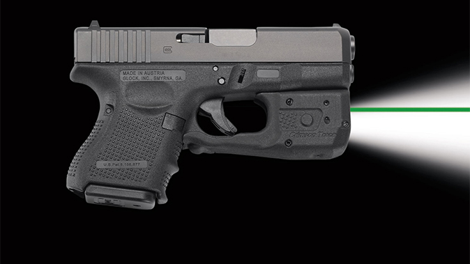 Crimson Trace laserguard pro LL-810G green laser
