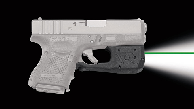 Crimson Trace laserguard pro LL-810G green laser right profile