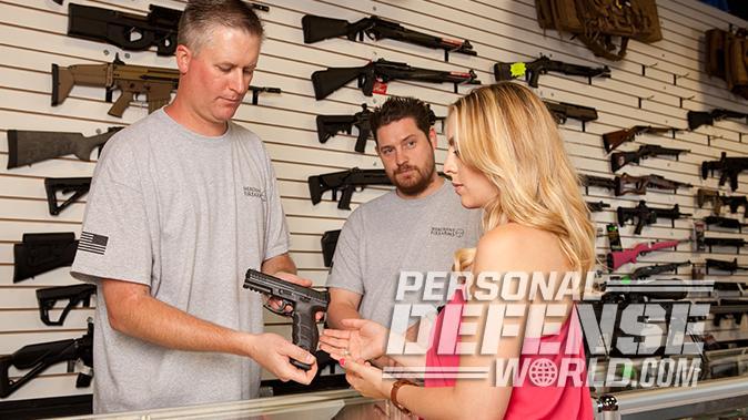 first handgun gun store