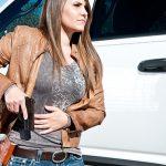 first handgun pistol draw