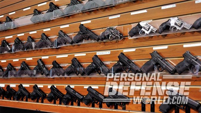 first handgun gun rack