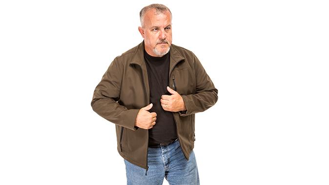 fred mastison gun drawing jacket