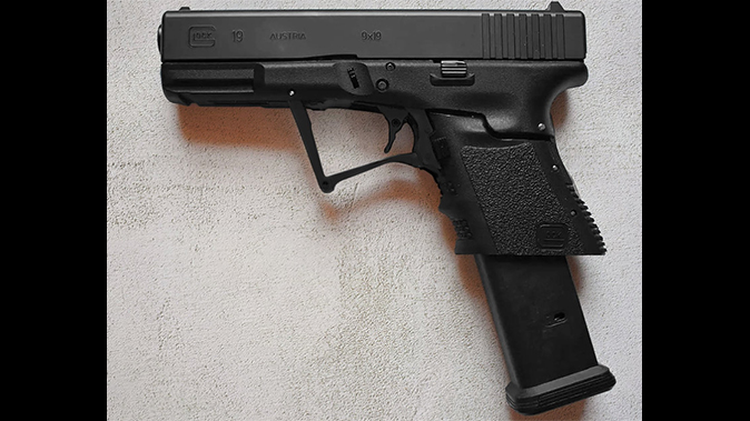 full conceal folding glock extended