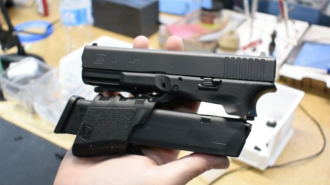 full conceal m3d folding glock 23 conversion