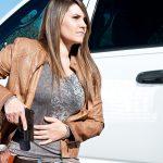 gun carrying holster draw